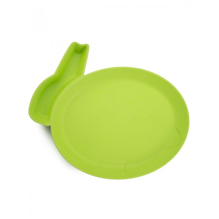JJRabbit Детская тарелка для кормления dipPLATEs Кролик от JJRabbit