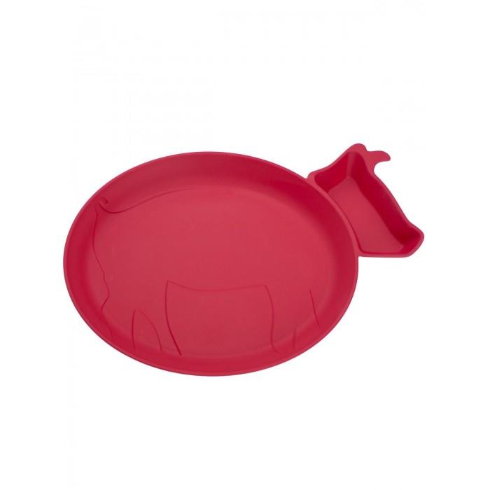 JJRabbit Детская тарелка для кормления dipPLATEs Поросенок от JJRabbit