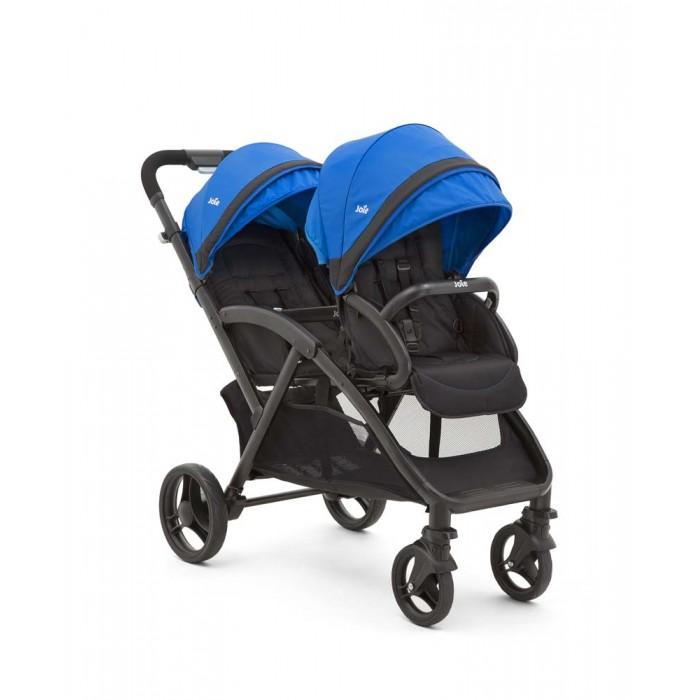 Joie Коляска для двойни Evalite DuoКоляска для двойни Evalite DuoJoie Коляска для двойни Evalite Duo создана с учетом потребностей и детей, и родителей. При весе всего в 11 кг, она очень комфортна. В двух просторных сиденьях будет удобно даже в зимней одежде.   Особенности: Лёгкая тандемная коляска, весит чуть более 10 кг Горизонтальный наклон спинки сиденья позволяет использовать с самого рождения Прекрасно сочетается с автокреслами группы 0+ Gemm™ и i-Gemm™, не требует дополнительных адаптеров. Sure Lock™ фиксатор крепит автокресло одним щелчком. Складывается быстро и компактно Свободно стоит в сложенном состоянии Мультипозиционные спинки на обоих сидениях Регулируемая в 2 положениях подножка на заднем сиденье Просторные капоры на обоих сидениях, со смотровым окошком на заднем сиденье Очень глубокая и легкодоступная корзина для покупок Амортизация всех колес Передние поворотные колёса с возможностью фиксации Накладка ShoeSaver на тормозах сохранит обувь от стирания SoftTouch 5-ти точечная система ремней безопасности с мягкими накладками. Прогулочный блок: У заднего сиденья спинка откидывается до горизонтального положения, фиксируется с помощью ременной системы Спинка переднего сиденья имеет два положения, также как и подножка  Каждому ребёнку достаточно пространства и они не мешают друг другу Кресла оборудованы достаточно большими капюшонами, с высоким фактором защиты от вредного ультрафиолета 50+ На капоре заднего сиденья в затылочной части имеется сетчатое смотровое окошко, закрытое тканной шторкой Ремни безопасности регулируются по высоте под рост маленьких пассажиров, на обоих сиденьях присутствует бампер Задний прогулочный блок снабжён системой Instant Sure Lock, которая позволяет без дополнительных адаптеров установить автокресло группы 0+ Joie Gemm или I-Gemm и использовать коляску для новорожденного малыша Joie Evalite Duo сделана из высококачественных, приятных и удобных в эксплуатации материалов. Шасси: Благодаря расположенным друг за другом сиденьям, ша