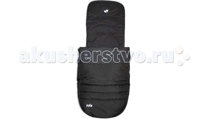 Зимний конверт Joie Муфта для ножек к коляскам Litetrax FootmuffМуфта для ножек к коляскам Litetrax FootmuffДемисезонный конверт Joie Муфта для ножек к коляскам Litetrax 3, Litetrax 4, Litetrax 4 Air Footmuff. Муфта - прекрасное дополнение к коляскам Joie. Она легко крепится к коляске с помощью пяти точечных ремней безопасности. 3 разных уровня креплений по высоте. Этот аксессуар долговечный снаружи и мягкий изнутри. Муфта защитит Вашего малыша от ветра. В теплый период легко расстегивается по линии молнии.   Подходит для всех моделей колясочек Joie, кроме Chrome DLX.<br>