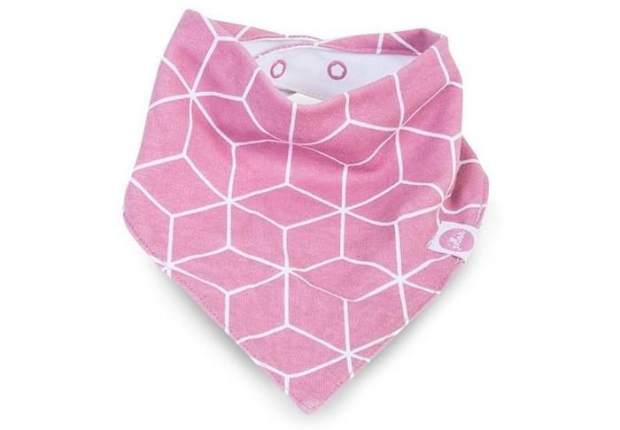 Нагрудники Jollein Graphic jollein треугольный розовый