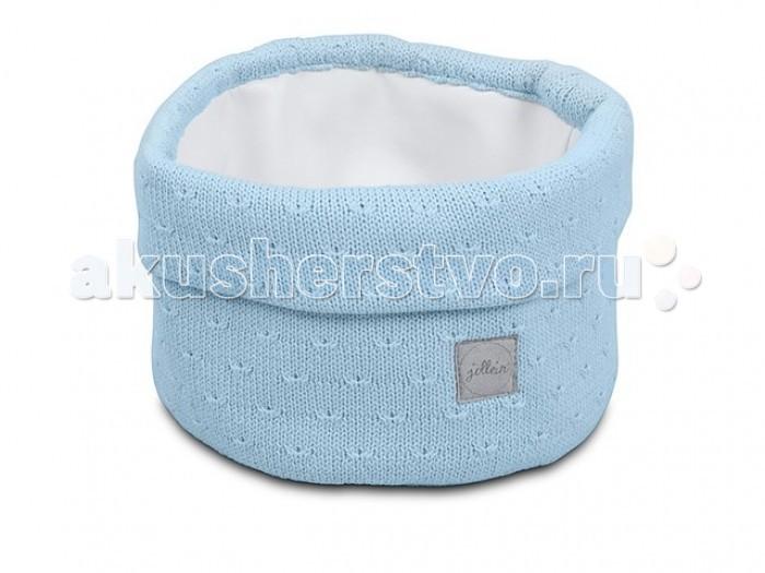 Детская мебель , Аксессуары для детской комнаты Jollein Корзина для аксессуаров Soft knit арт: 402049 -  Аксессуары для детской комнаты
