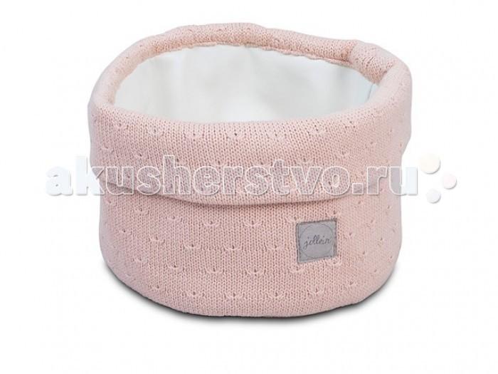 Аксессуары для детской комнаты Jollein Корзина для аксессуаров Soft knit 31x14 см варежки  перчатки и шарфы jollein шарф confetti knit