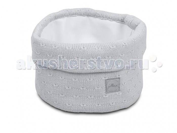 Аксессуары для детской комнаты Jollein Корзина для аксессуаров Soft knit 31x14 см