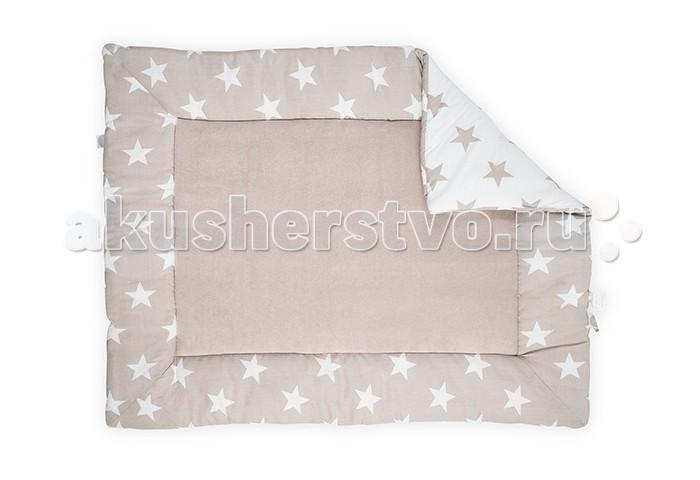 Детская мебель , Аксессуары для мебели Jollein Коврик-матрас для манежа Star 100х80 арт: 371113 -  Аксессуары для мебели