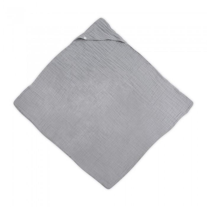 Полотенца Jollein Муслиновое полотенце с капюшоном 100х100 см, Полотенца - артикул:584086
