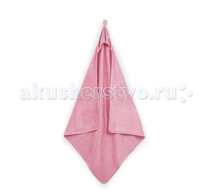 Полотенца Jollein Полотенце с капюшоном 100х100 jollein треугольный розовый
