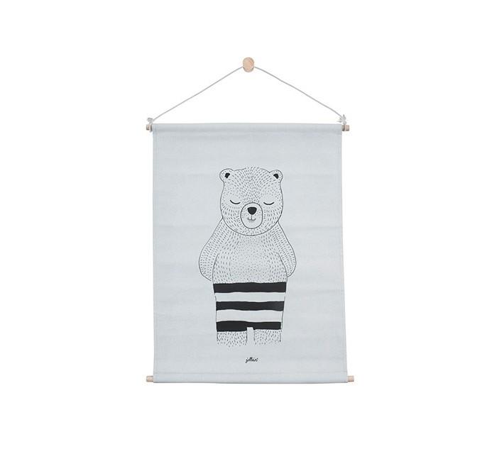 Постельные принадлежности , Карманы и панно Jollein Постер Wild animals 42x60 см арт: 467141 -  Карманы и панно