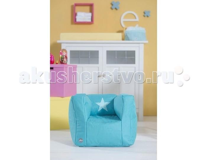 Детская мебель , Мягкие кресла Jollein Пуф 028-543 арт: 371153 -  Мягкие кресла