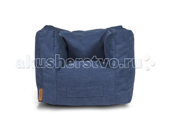 Мягкие кресла Jollein Пуф Stonewashed coolline пуфик для кресла