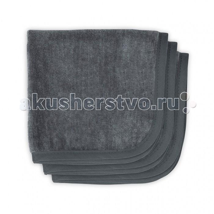 Текстильные салфетки Jollein Салфетки для лица однотонные 3 шт. 30х30 см пледы jollein байковый с рисунком 75х100 см