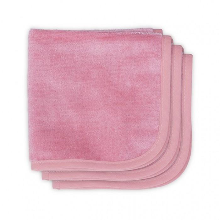 Текстильные салфетки Jollein Салфетки для лица однотонные 3 шт. jollein треугольный розовый