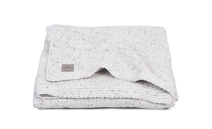 Пледы Jollein Вязаный Confetti knit 100x150 см jollein треугольный розовый
