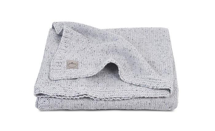 Пледы Jollein Вязаный Confetti knit 75x100 см вязаный плед с мехом 100х150 см jollein stonewashed knit navy