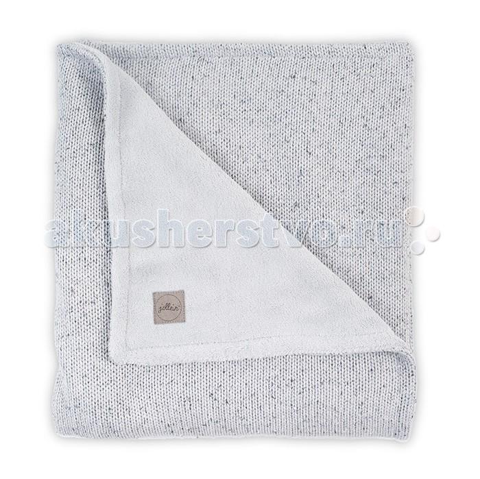 Пледы Jollein Вязаный с мехом Confetti knit 75x100 см варежки  перчатки и шарфы jollein шарф confetti knit