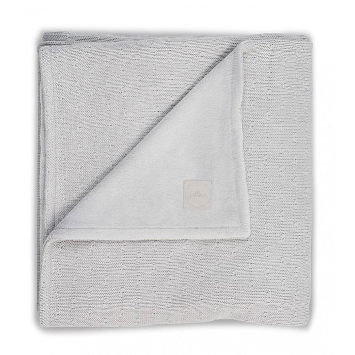 Пледы Jollein Вязаный с мехом Soft knit 100х150 см вязаный плед с мехом 100х150 см jollein stonewashed knit navy