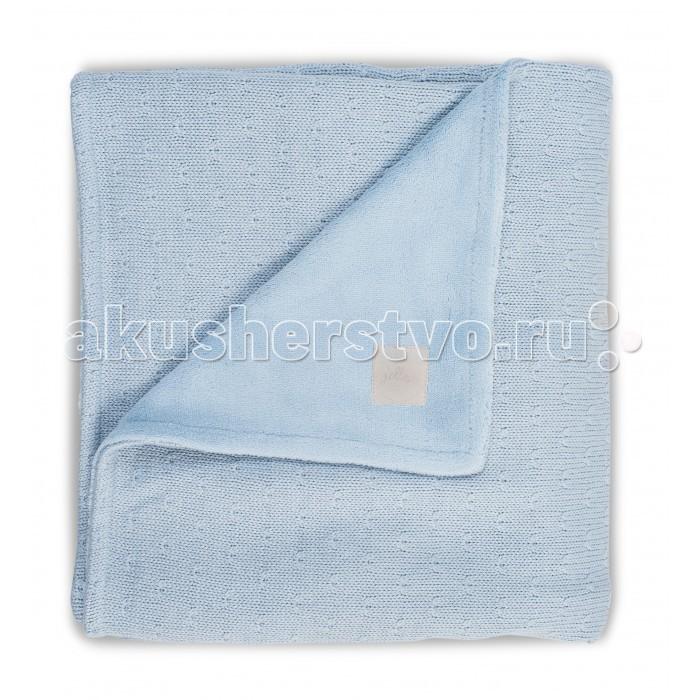 Плед Jollein Вязаный с мехом Soft knit 75х100 см