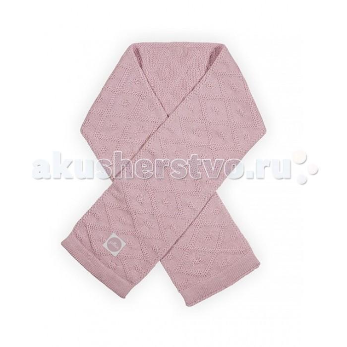 Варежки, перчатки и шарфы Jollein Вязаный шарф Diamond jollein треугольный розовый
