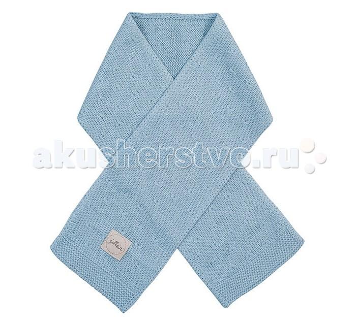 Варежки, перчатки и шарфы Jollein Вязаный шарф Soft knit 90 см вязаный плед с мехом 100х150 см jollein stonewashed knit navy