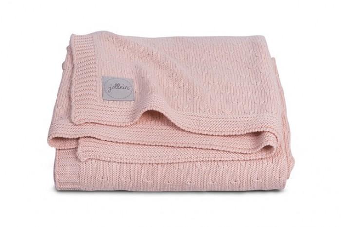 Пледы Jollein Вязаный Soft knit 75х100 см варежки  перчатки и шарфы jollein шарф confetti knit