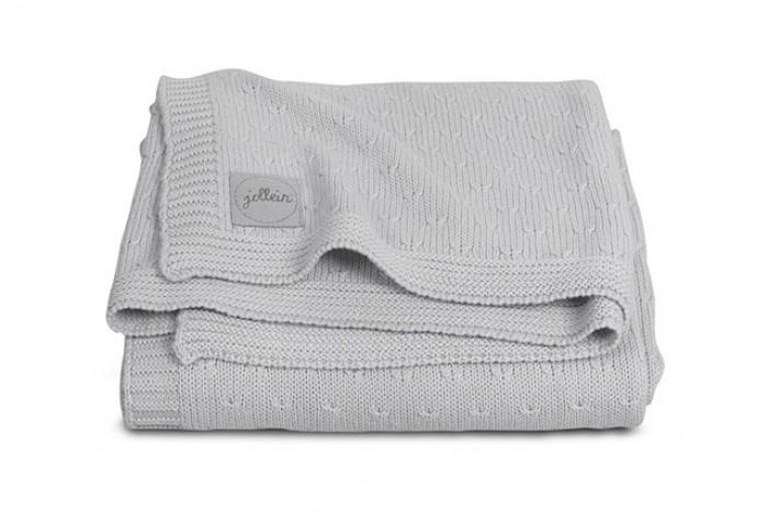 Пледы Jollein Вязаный Soft knit 75х100 см пледы jollein байковый с рисунком 75х100 см