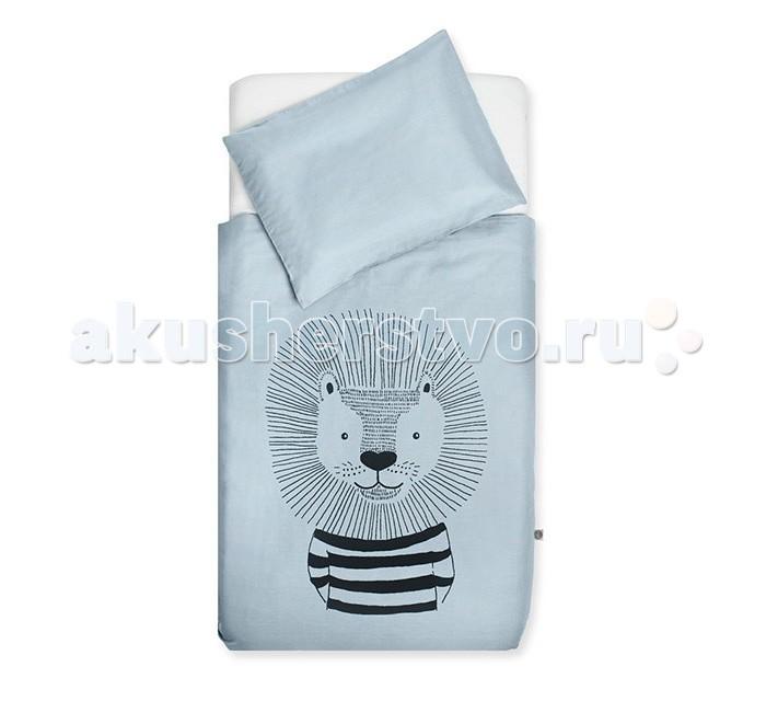 Постельные принадлежности , Постельное белье Jollein Wild animals 120х150 см арт: 435444 -  Постельное белье