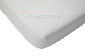 Простыни Jollein Махровая простынь на резинке Terry Cloth 60х120 см пледы jollein байковый с рисунком 75х100 см