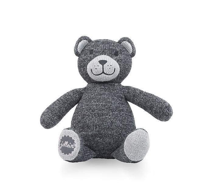 Мягкая игрушка Jollein МишкаМишкаМягкая игрушка Jollein Мишка сделана из безопасных материалов, приятная на ощупь.  Будет радовать самых маленьких в кроватке, а когда ребенок подрастет, с этим мишкой будет очень весело играть.<br>