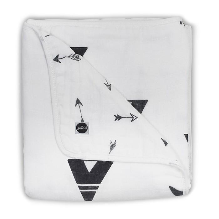 Одеяла Jollein муслиновое 75х100 см пледы jollein байковый с рисунком 75х100 см