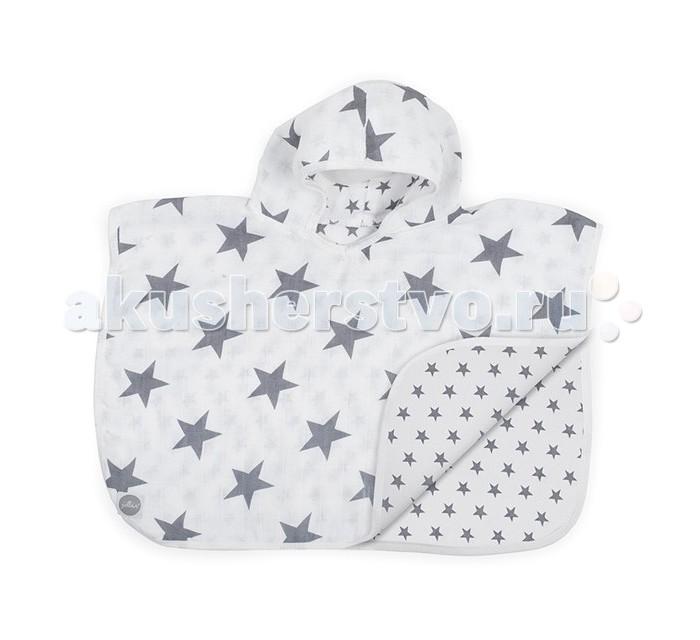 Полотенца Jollein Муслиновое полотенце-пончо 45х60 см полотенца kipkep полотенце пончо page 2