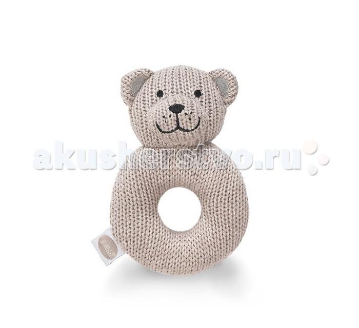 Погремушки Jollein Мягкая игрушка Мишка фиксатор двери мир детства мишка