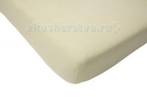 где купить Простыни Jollein Простынь на резинке Cotton 75х150 см по лучшей цене