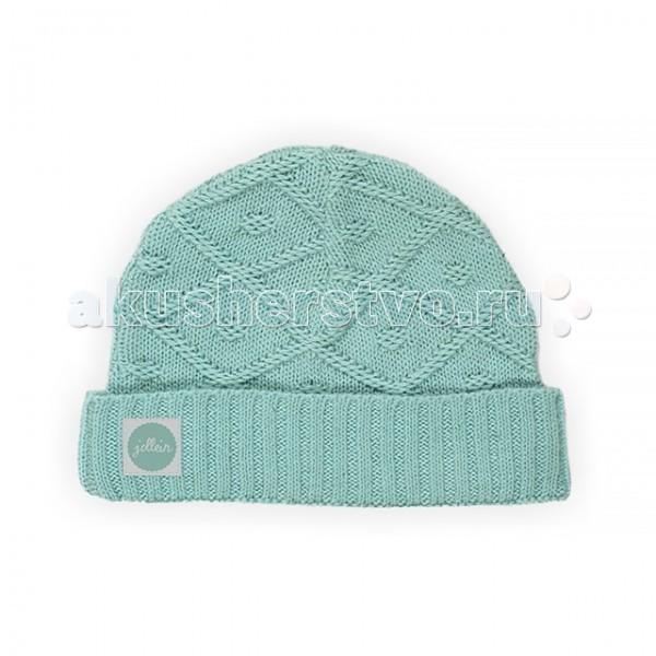 Шапочки и чепчики Jollein Вязаная шапочка Diamond knit варежки  перчатки и шарфы jollein шарф confetti knit