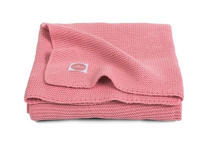 Пледы Jollein Вязаный Basic knit 100x150 варежки  перчатки и шарфы jollein шарф confetti knit