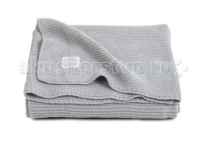 Пледы Jollein Вязаный Basic knit 75х100 knit basic tee