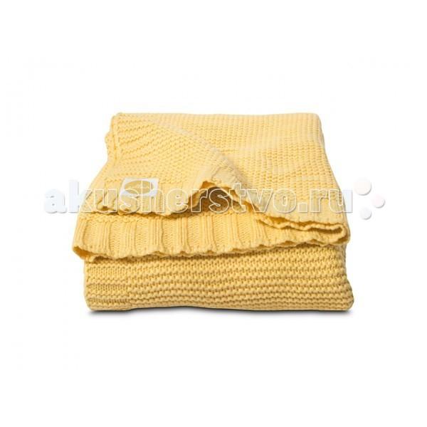 Плед Jollein Вязаный Chunky Knit 75х100 смВязаный Chunky Knit 75х100 смВязаный плед Jollein Chunky Knit 75х100 см  Роскошный плед, связанный двойной нитью, обеспечит Вашему малышу тепло и уют в прохладную погоду. Ваш малыш будет смотреться эффектно и празднично. Украсьте таким пледом детскую кроватку, коляску.  Состав: 50 % хлопок, 50 % акрил.   В сочетании хлопка с акрилом акрил делает плед теплее, прочнее, легче и практичнее. Акрил называют искусственной шерстью.   Сама ткань (акрил) обладает гипоаллергенными и антибактериальными свойствами. Ко всему тому, акрил имеет свойство не притягивать пыль, а потому использование пледа из такого материала будет прекрасным выходом из ситуации для аллергиков – он легче отстирывается и быстрее сохнет. А хлопок улучшает гигроскопичность и дышащие качества такого пледа.  Размер: 75х100 см.  Уход: рекомендуется стирка при 40 градусах.<br>