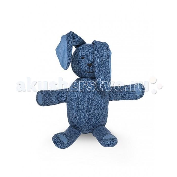Мягкие игрушки Jollein Вязаный Зайчик 43 см спальные конверты jollein со съемными рукавами 110 см тог 1 7