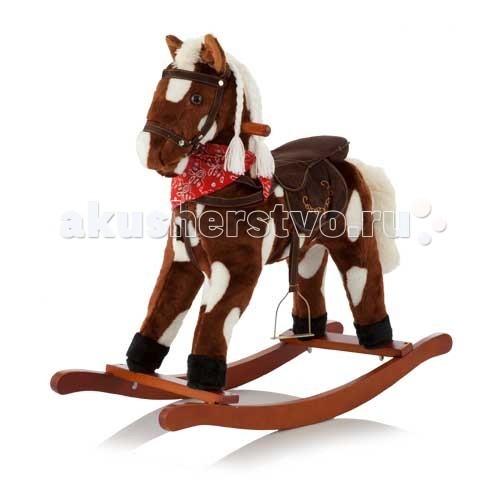 Качалка Jolly Ride ЛошадкаЛошадкаКачалка Jolly Ride Лошадка - замечательная развивающая игрушка для малышей старше 12 месяцев. Игрушка способствует улучшению координации, развитию вестибулярного аппарата и укреплению мышц маленького наездника. Мягкое сиденье, удобные ручки, стремена все сделано для удобства и комфорта малыша. Если нажать коню на ушко, то игрушка заржет, зашевелит ртом, и послышится цокот копыт.   Материалы: выполнена из красочного текстильного материала дуга-качалка - дерево стремена - из металла   Особенности: мягкая и удобная качалка предназначена для детей от 12 месяцев до 3 лет оригинальный дизайн мягкое и удобное сидение издает звуковые сигналы шевелит ртом  роскошная грива из шелковых волокон - очень красиво и можно заплетать в косичку 2 удобные ручки по бокам максимальная нагрузка 18 кг  Размеры: 76х38х69<br>