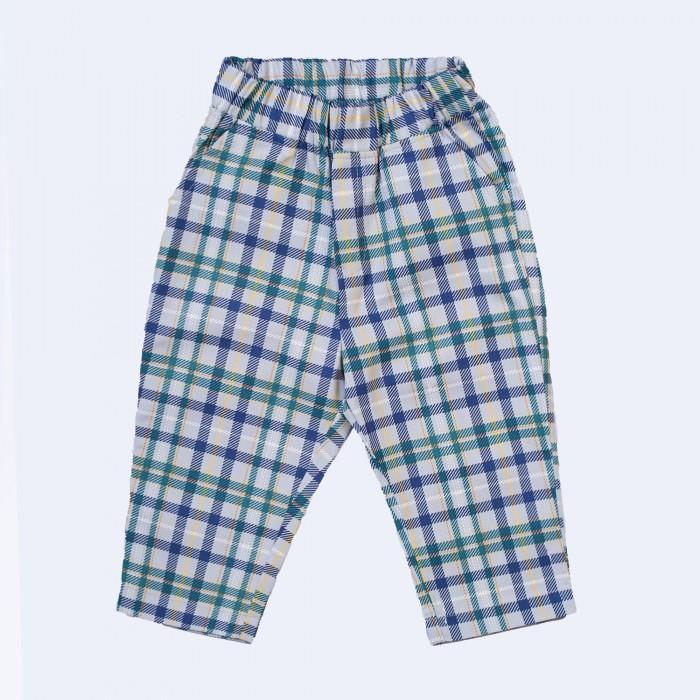 Брюки и джинсы Ёмаё Брюки для мальчика 0-2 Радуга клетка 41-947