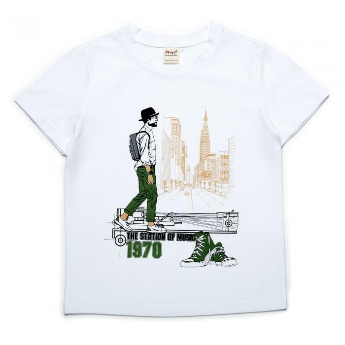 футболки и топы Футболки и топы Ёмаё Футболка для мальчика Хипстер 27-6162