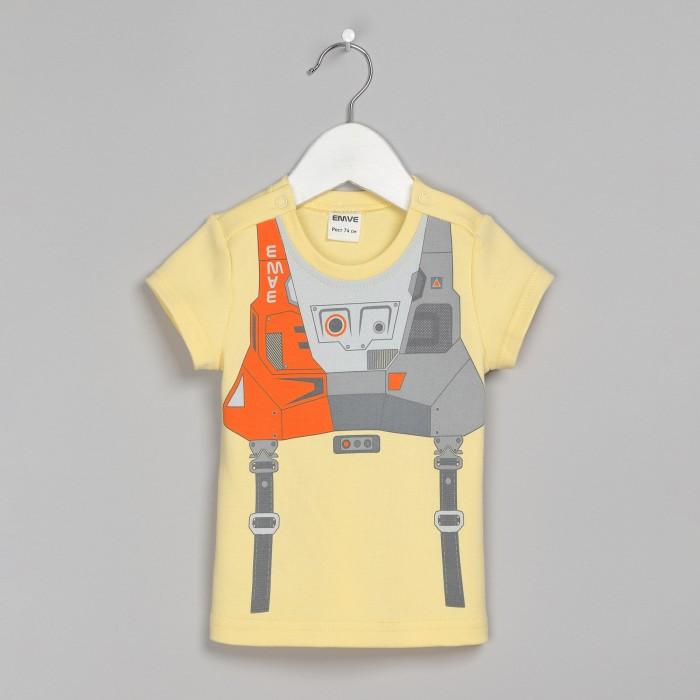 Футболки и топы Ёмаё Футболка для мальчика Космос 27-242 серая футболка для мальчика миньона 38