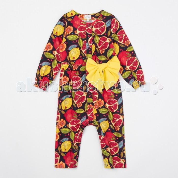 Детская одежда , Комбинезоны и полукомбинезоны Ёмаё Комбинезон для девочек Фруктовый взрыв 22-905 арт: 543511 -  Комбинезоны и полукомбинезоны