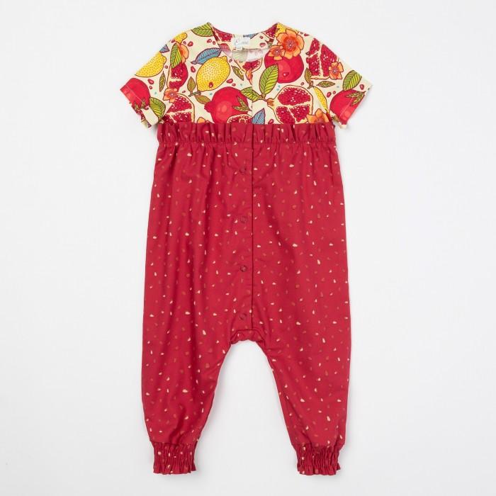 Детская одежда , Комбинезоны и полукомбинезоны Ёмаё Комбинезон для девочек Фруктовый взрыв 22-906 арт: 543516 -  Комбинезоны и полукомбинезоны