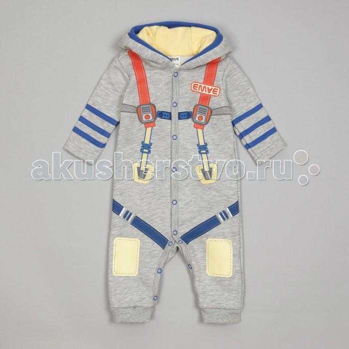 Детская одежда , Комбинезоны и полукомбинезоны Ёмаё Комбинезон для мальчика Космос 22-402 арт: 542101 -  Комбинезоны и полукомбинезоны