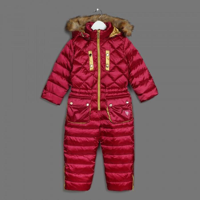 Зимние комбинезоны и комплекты Ёмаё Комбинезон утепленный для девочки 36-104