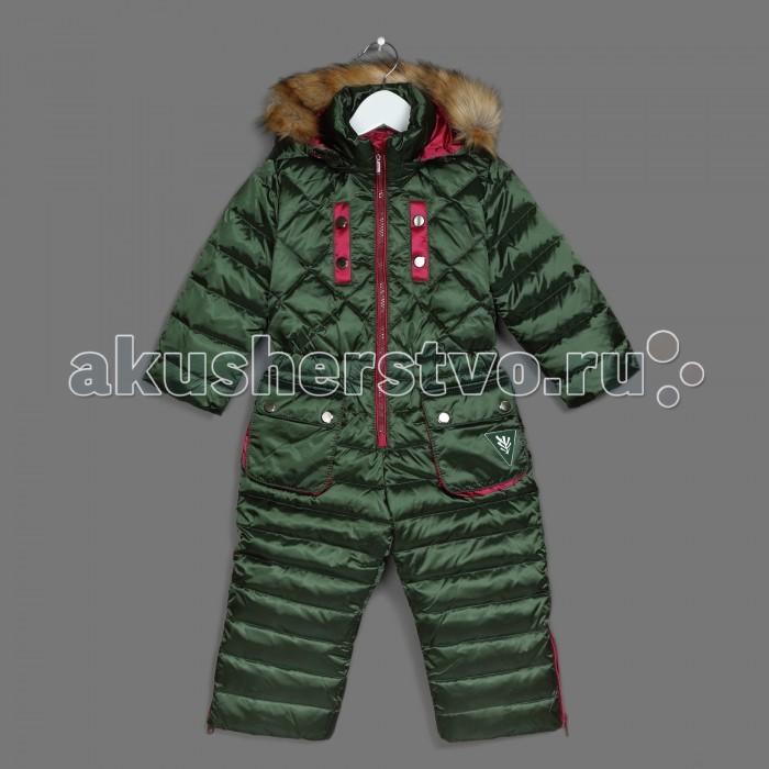 Детская одежда , Утепленные комбинезоны и комплекты Ёмаё Комбинезон утепленный для девочки 36-104 арт: 408329 -  Утепленные комбинезоны и комплекты