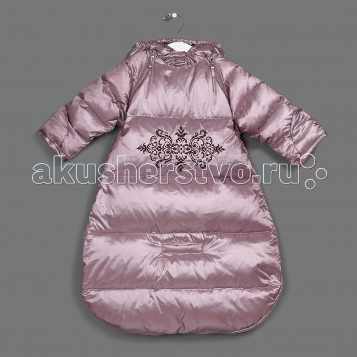 Детская одежда , Утепленные комбинезоны и комплекты Ёмаё Конверт утепленный для девочки 68-117 арт: 408189 -  Утепленные комбинезоны и комплекты