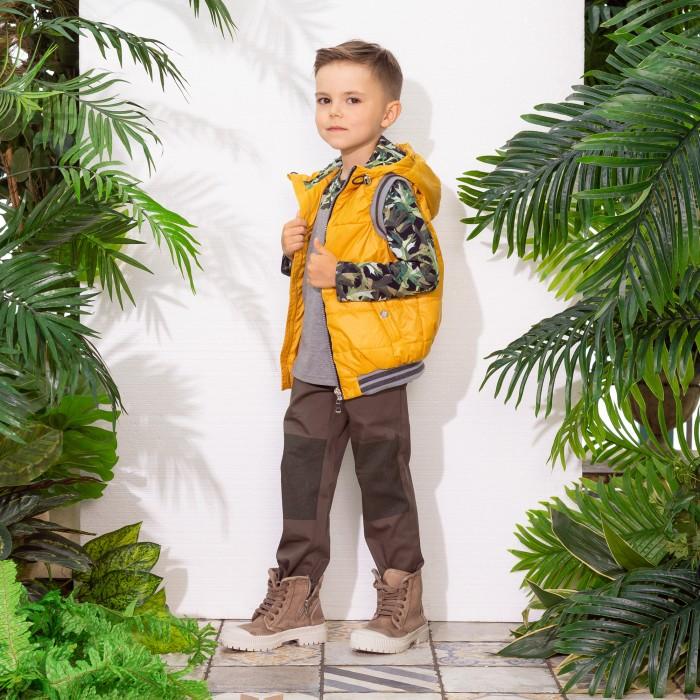 Верхняя одежда Ёмаё Жилет для мальчика 2-7 Форест 16-105