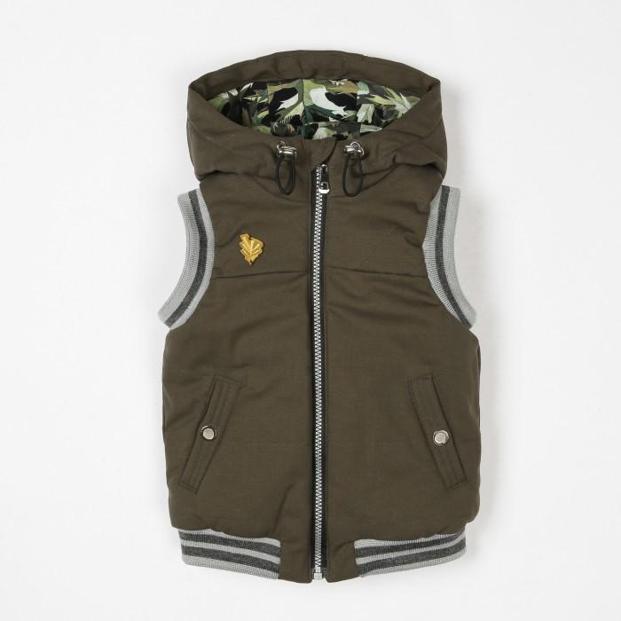 Верхняя одежда Ёмаё Жилет для мальчика 2-7 Форест 16-106