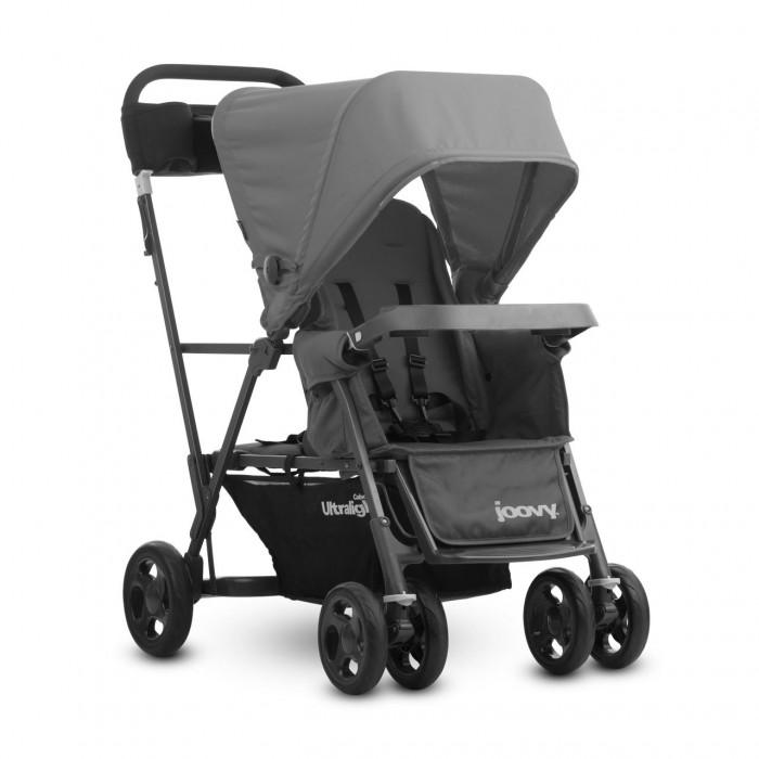 Детские коляски , Коляски для двойни и погодок Joovy Коляска для погодок Caboose Ultralight арт: 22965 -  Коляски для двойни и погодок